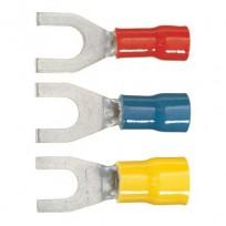 Cosses Fourche à sertir pré-isolées PVC