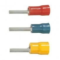 Fiche plate à sertir pré-isolées PVC