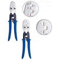Pinces à sertir pour embouts simples et doubles de 4 à 95 mm²