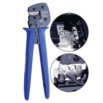 Pinces à sertir pour embouts simples et doubles 4 à 95 mm²