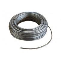 Tresse ronde cuivre étamé isolation PVC Translucide